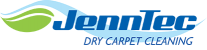 Jenntec Dry Carpet Cleaning Bay City Michigan Logo